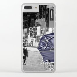 Vintage Baby Strollers Clear iPhone Case