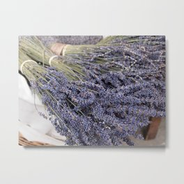 Lavender For Sale Metal Print