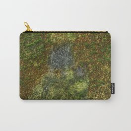 Old stone wall with moss Carry-All Pouch