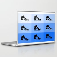 air jordan Laptop & iPad Skins featuring JORDAN 1  by ZERO FLUX