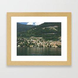Italian Hillside Framed Art Print