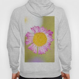 Yellow and pink wildflower Hoody