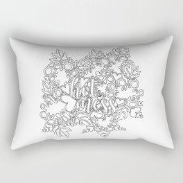 Hot Mess Adult Coloring Rectangular Pillow