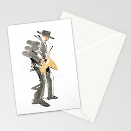 Musician Jazz Saxophone Stationery Cards