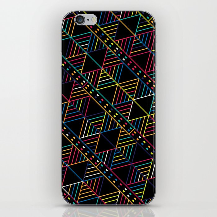 Retro Tribal pattern iPhone Skin