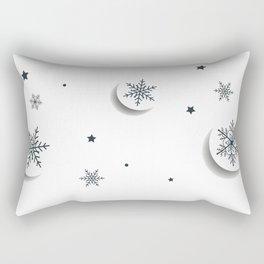 Cercle Fleur Rectangular Pillow