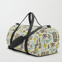 Island Tiki - Tan Duffle Bag