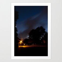 Streetlight Art Print