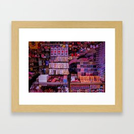 Matsuri Madness Framed Art Print