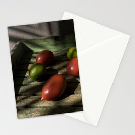 Tomatoes and lemons Stationery Cards