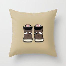 """""""Cactus Jack"""" Heel Print 1 Throw Pillow"""