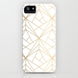 Polygonal Pattern iPhone Case