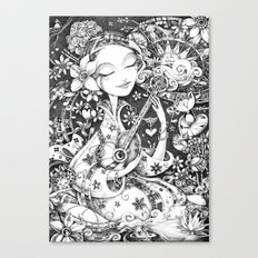 Weeping Widow Canvas Print