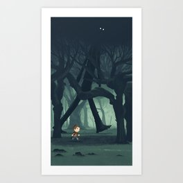 The Forrest Giant Art Print