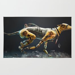 Warrior Dog 641 Rug