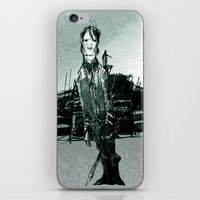 captain silva iPhone & iPod Skins featuring captain by jenapaul