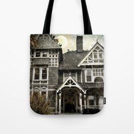 Haunted Hauntings Series - House Number 1 Tote Bag