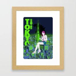 Tokyo Gaming Framed Art Print