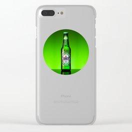Ice cold Heineken Clear iPhone Case