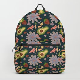 Avocados and mushrooms Backpack