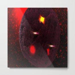 Large purple asteroid Metal Print