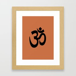 Om/Aum Framed Art Print