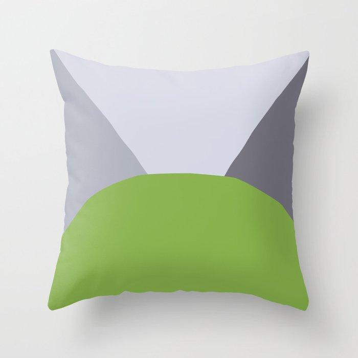 Deyoung Greenery Throw Pillow
