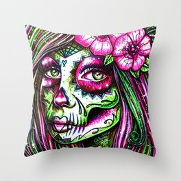Revive III Throw Pillow