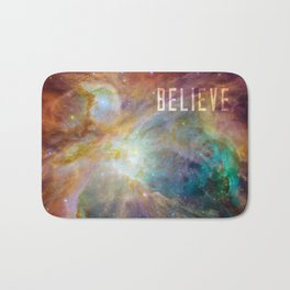 Believe -  Space and Universe Bath Mat