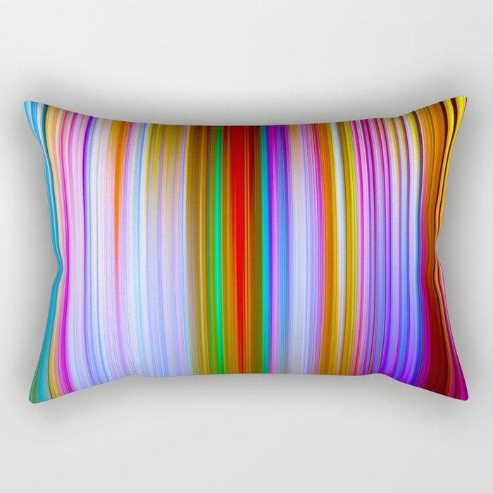 Times Square Rectangular Pillow