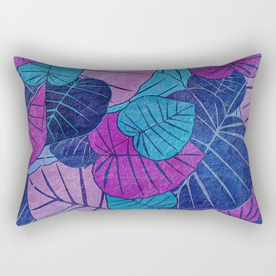 Leaf Pattern 3 Rectangular Pillow