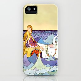 """Europa and the Bull"" by Virginia Sterrett iPhone Case"