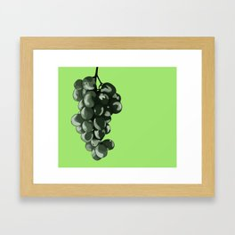 Fruit Part Three: The Grape Framed Art Print