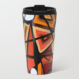Geometric Composition Travel Mug