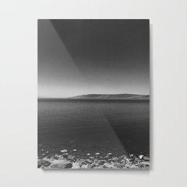 Sea B&W Metal Print