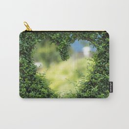 Heart in nature | coeur dans la nature Carry-All Pouch