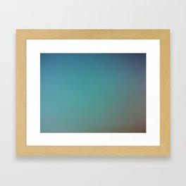 the colours of the sky Framed Art Print