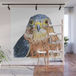 Scout the Merlin by Teresa Thompson Wall Mural