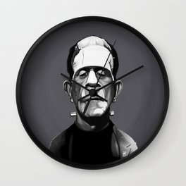 Boris Karloff Wall Clock