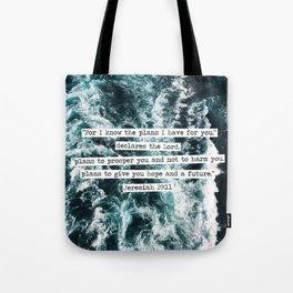 Jeremiah Ocean Tote Bag