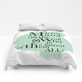Mirror Mirror - Snow White Inspired Comforters