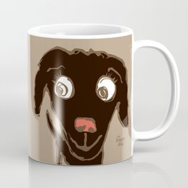 Thale - beige/black with coral nose Coffee Mug