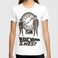 back to the future T-shirts featuring BACK TO THE FUTURE by Rocky Rock