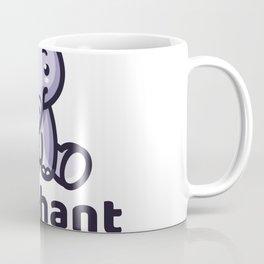 Elephant Kids Logo Template Coffee Mug