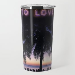 Boracay Island Palm Trees Travel Mug