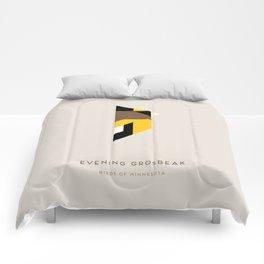 Evening Grosbeak Comforters