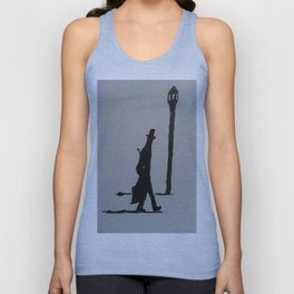 Walking Home, London, 1887 Unisex Tank Top