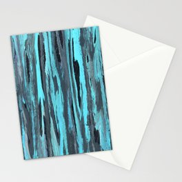 Turquoise Flow Stationery Cards