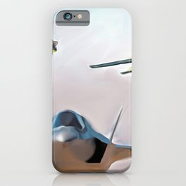 Lightning three ways iPhone Case