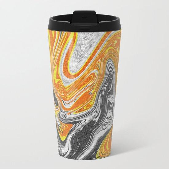 noisi Waves Metal Travel Mug